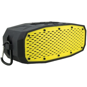 COLEMAN AktivSounds Waterproof Bluetooth(R) Bass Speaker (Yellow) CBT17-Y