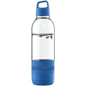SYLVANIA Water Bottle with Integrated Bluetooth(R) Speaker (Blue) SP650-BLUE