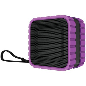 COLEMAN AktivSounds Waterproof Bluetooth(R) Cube Speaker (Black) CBT14-P