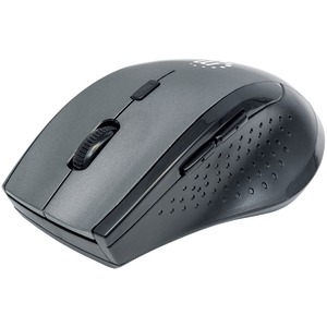 MANHATTAN Curve Wireless Optical Mouse (Gray/Black) 179379
