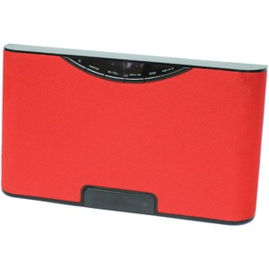 SYLVANIA USB Bluetooth(R) Wireless Speaker (Red) SP5686-RED