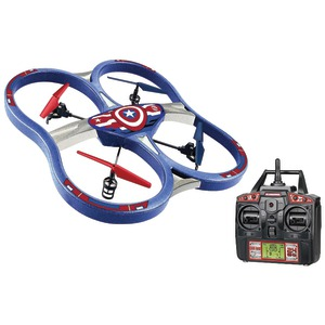 MARVEL Remote-Control 4.5-Channel 2.4GHz Marvel(R) Captain America(R) Super Drone 34887
