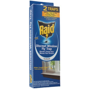 RAID Discreet Window Fly Trap FLYHIDE-RAID