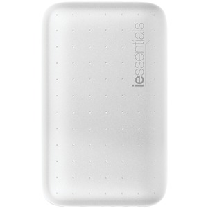 IESSENTIALS 6,000mAh PowerBank with UL Battery Pack (White) IEC-PB6-WT