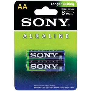 SONY Alkaline Batteries (AA; 2 pk) AM3LB2D