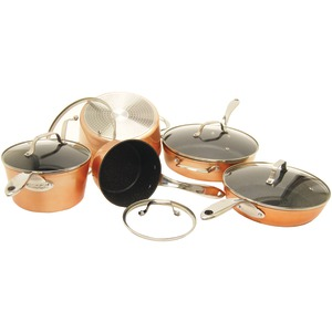 THE ROCK(TM) by Starfrit 10-Piece Copper Cookware Set
