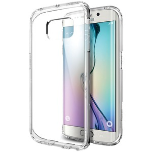 SPIGEN Samsung(R) Galaxy S(R)6 Edge Ultra Hybrid Case (Crystal Clear) SGP11474
