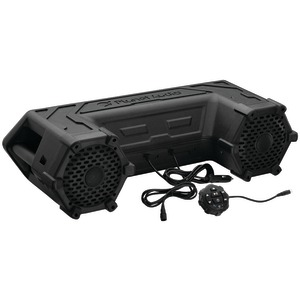 PLANET AUDIO Power Sports Series Waterproof All-Terrain Sound System with Bluetooth(R) & LED Light Bar (6.5 inch., 450 Watts) PATV65