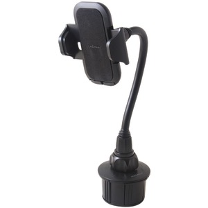 MACALLY Long-Neck Adjustable Automobile Cup-Holder Mount for Smartphones & Most GPS Devices MCUP2XL