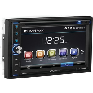 PLANET AUDIO 6.5 inch. Double-DIN In-Dash DVD Receiver with Bluetooth(R) P9650B