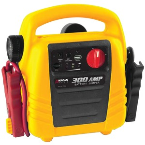 WAGAN TECH 300-Amp Battery Jumper(TM) with Air Compressor 7004