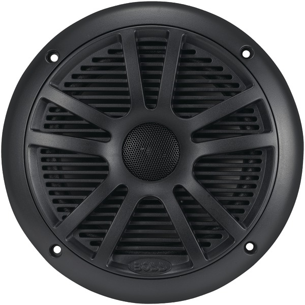 BOSS AUDIO MR6B Marine 6.5 Inch. Dual-Cone Speakers (Black)