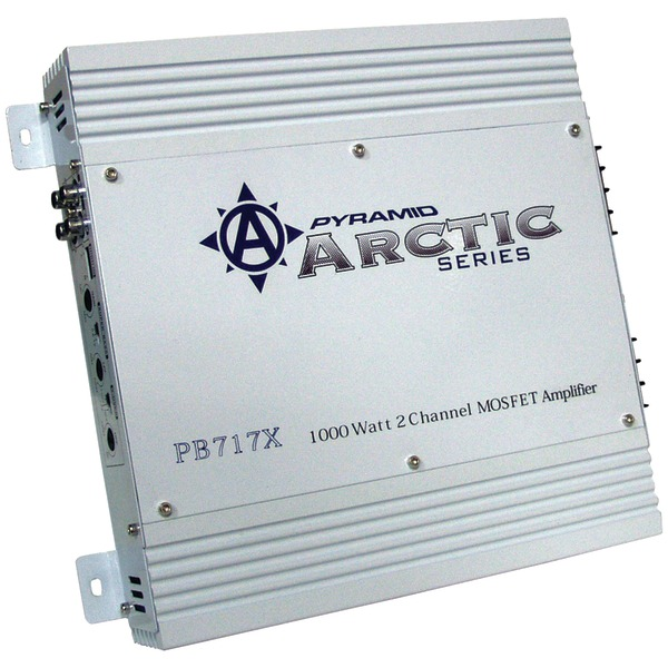 PYRAMID PB717X Arctic Series 2-Channel Bridgeable MOSFET Amp (1000 Watts)