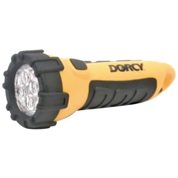 DORCY 41-2510 32-Lumen 4-LED Carabiner Waterproof Flashlight