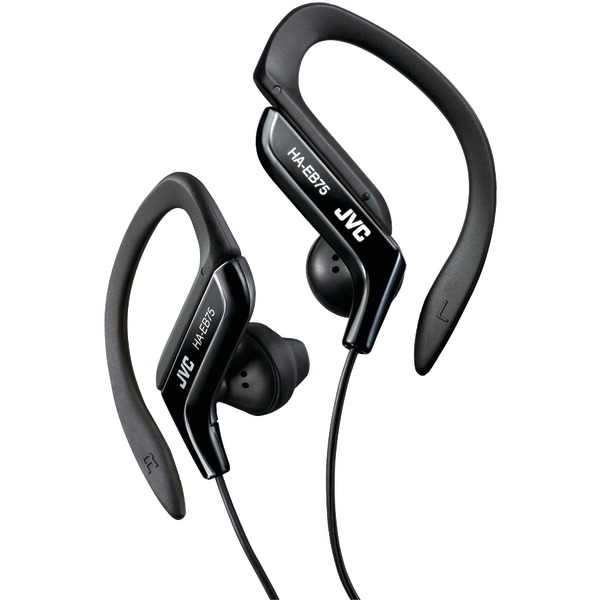 JVC HAEB75B Ear-Clip Headphones (Black)