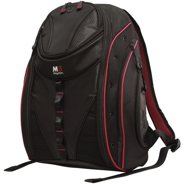 MOBILE EDGE MEBPE72 16 Inch. PC/17 Inch. MacBook(R) Express 2.0 Backpack Red