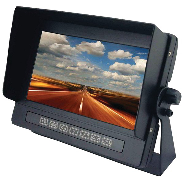 CRIMESTOPPER SV-8700 7 Inch. Universal Digital Color LCD Monitor