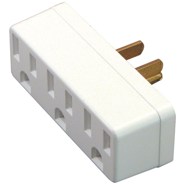 AXIS 45090 3-Outlet Wall Adapter