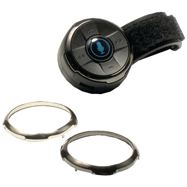 ISIMPLE ISBC01 BluClik(TM) Bluetooth(R) Remote Control with Steering Wheel & Dash Mounts