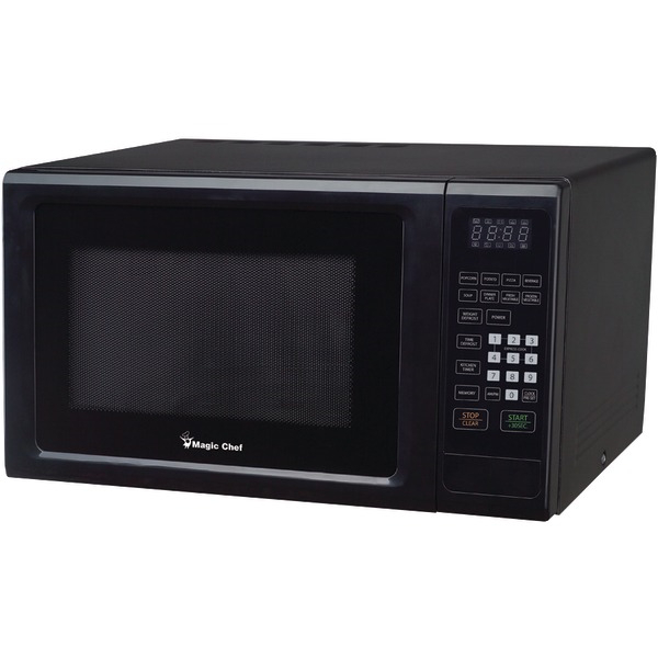 MAGIC CHEF MCM1110B 1.1 Cubic-ft 1000-Watt Microwave with Digital Touch (Black)