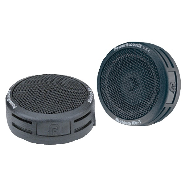 POWER ACOUSTIK NB-1 200-Watt 2-Way-Mount Tweeters