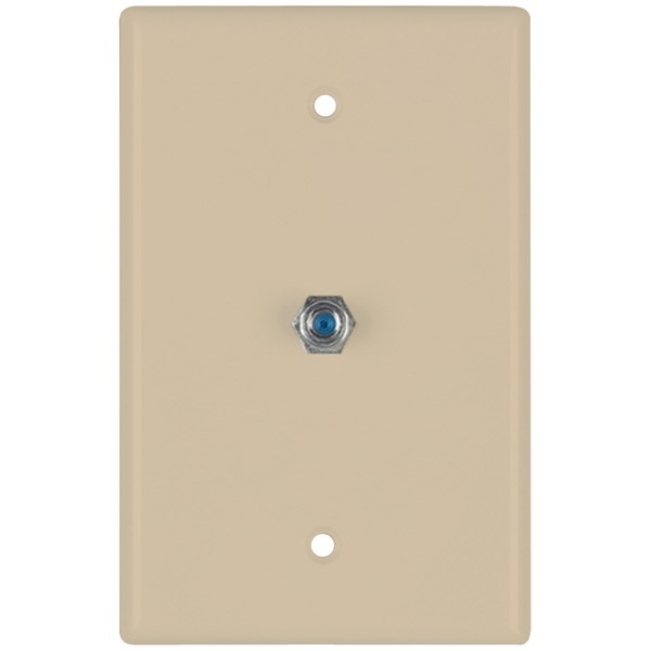 DATACOMM ELECTRONICS 32-2024-IV 2.4GHz Coaxial Wall Plate (Ivory)