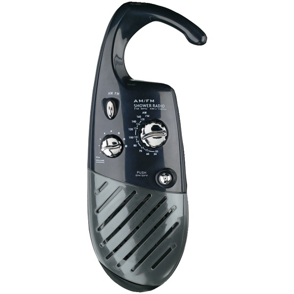 CONAIR SR10 Shower Radio (Black)