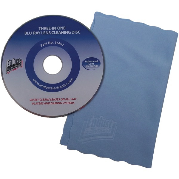 ENDUST 262000 CD/DVD/Blu-ray Disc(R)/Game Console Lens Cleaner