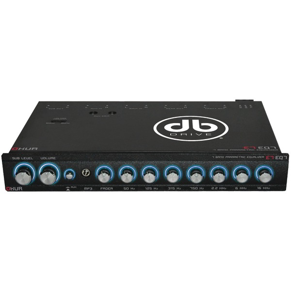 DB DRIVE E7EQ7 Okur(R) Series 7-Band Parametric Equalizer