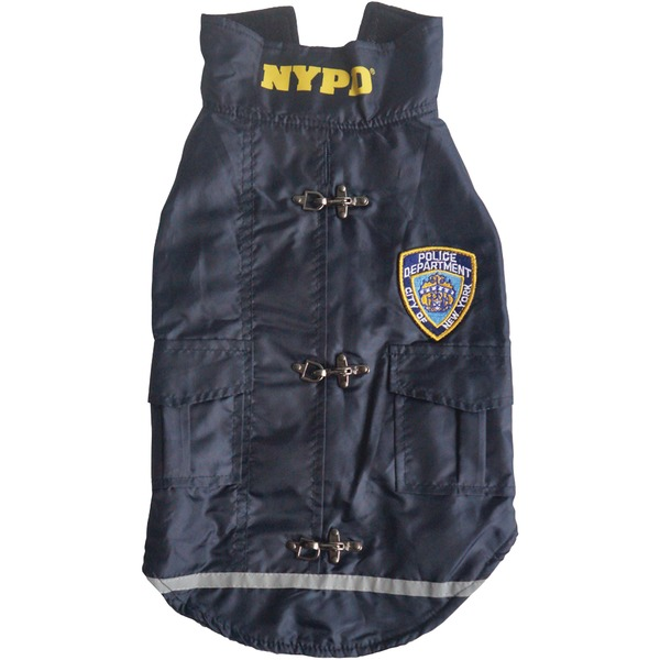 Royal Animals 13Z1009R NYPD(R) Water-Resistant Dog Coat (Small)