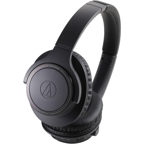 Audio-Technica ATH-SR30BTBK ATH-SR30BT Wireless Over-the-Ear Headphones (Charcoal Gray)