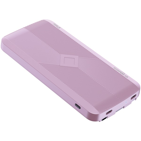 iWalk UBA8000-006A Scorpion AIR Wireless Power Bank (Pink)