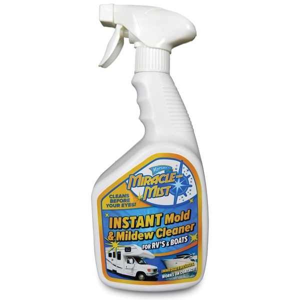 MiracleMist MMRV-4 Instant Mold and Mildew Cleaner for RVs and Boats (32-Ounce Spray Bottle)