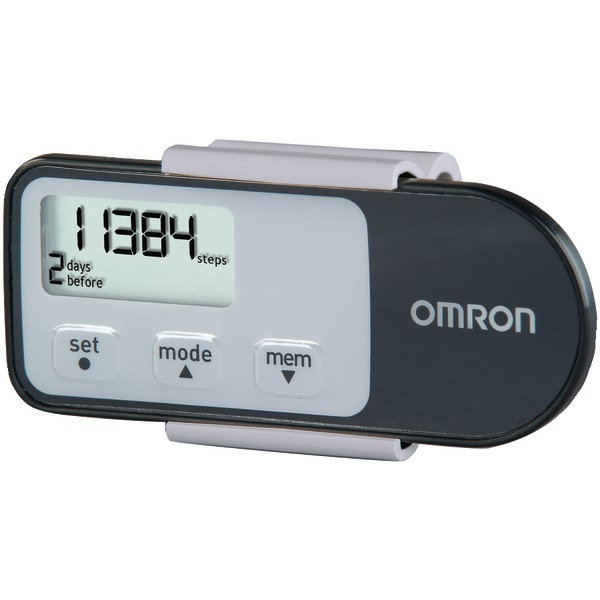 OMRON HJ-321 Omron(R) Alvita Tri-Axis Pedometer with Calories Burned