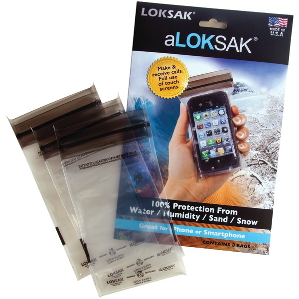 ALOKSAK aLOK3-3x6 Pouch Bags for Smartphones 3 pk
