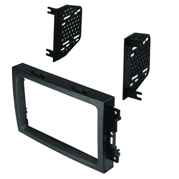 American International CDK650 Double-DIN Dash Installation Kit for Chrysler, Dodge, and Jeep 2004 to 2008