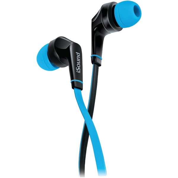 DREAMGEAR DGHP-5723 EM-60 Earbuds with Microphone (Blue)
