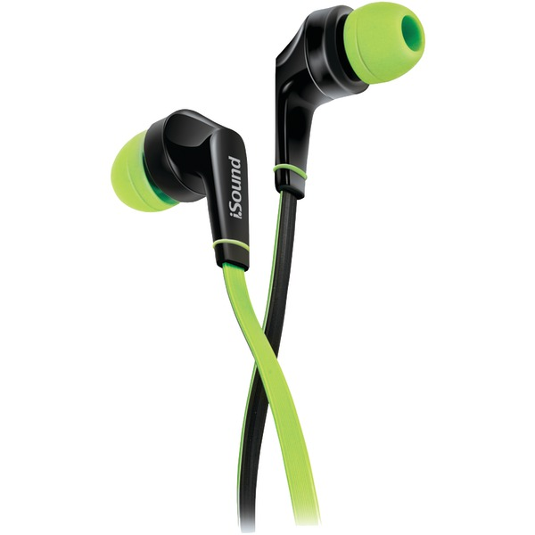 DREAMGEAR DGHP-5725 EM-60 Earbuds with Microphone (Green)