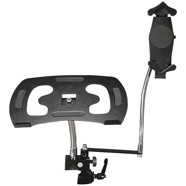 CTA Digital PAD-DLT Heavy-Duty Dual Gooseneck Clamp Stand