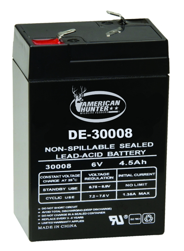 American Hunter 6V 4.5 AMP HR RECHARGEABLE BATTERY
