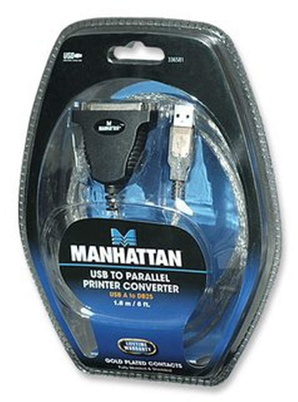 MANHATTAN - STRATEGIC MANHATTAN USB TO PARALLEL PRINTER CONV